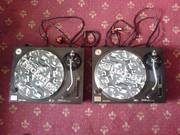 2 Technics SL1210's Decks & Technics Championship mixer