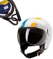 Open Face Helmets and Motorcycle Tax Disc Holder