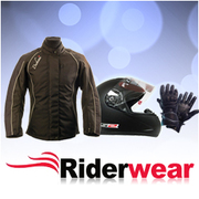 Cougar Motorcycle Jacket in Black Colour